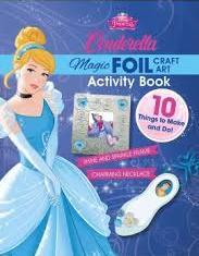 Cinderella : Magic Foil Craft Art Book And Kit
