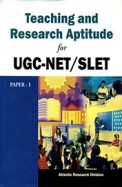 Teaching & Research Aptitude For Ugc-Net/Slet Paper 1