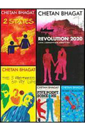Chetan Bhagat Set Of 8 Books