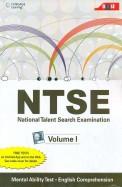 Ntse: National Talent Search Examination Vol 1