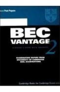 Cambridge Bec Vantage Practice Tests WCd