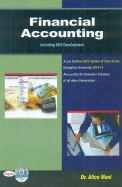 Financial Accounting For 1st Sem Bcom Bu -        Including Skill Development