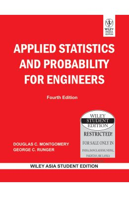 Applied Statistics And Probability For Engineers, 4th Edition