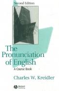 Pronunciation Of English A Course Book
