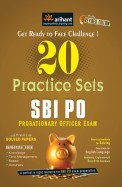 20 Practice Sets Sbi Po Probationary Officer Exam With Previous Solved Papers: Code J222