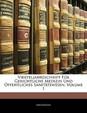 Vierteljahrsschrift Fur Gerichtliche Medizin Und Ffentliches Sanit Tswesen, Erster Band