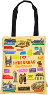 Eco Corner Small Coloured Hyderabad Cotton Bag