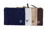 Jute Pouch with Zip A4 Size - White / Blue /Brown / Natural