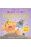 Usborne Phonics Readers Big Pig On A Dig