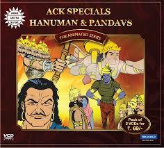 ACK Specials-Hanuman and Pandavs -2 VCD Pack