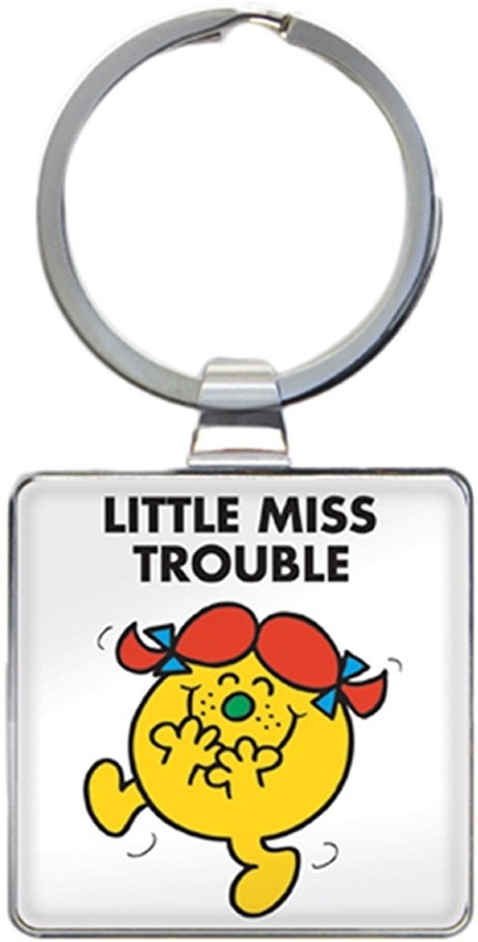 Little Miss Trouble Keyring