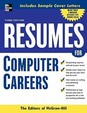 Resumes For Computer Careers (Professional Resumes Series)