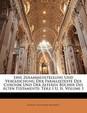 Eine Zusammenstellung Und Vergleichung Der Paralleltexte Der Chronik Und Der Alteren Bucher Des Alten Testaments: Teile I U. II, Volume 1