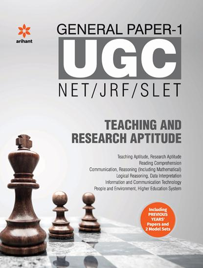 Ugc Net/jrf/slet Teaching & Research Aptitude General Paper 1 : Code J034