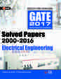 Gate Solved Papers 2000-2016 Electrical Engineering 2017
