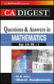 Ca Digest Questions & Answers In Mathematics For Ca Pe-1