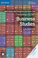 Cambridge Igcse Business Studies Course Book W/Cd