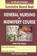 Cumulative Record Book For General Nursing Midwifery Course