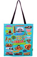 Eco Corner Big Coloured India Bag