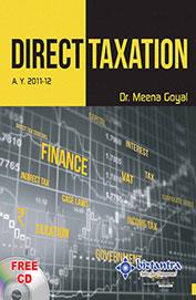Direct Taxation Ay 2013-14 W/Cd
