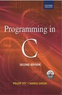 Programming In C W/Cd