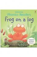 Usborne Phonics Readers Frog On A Log