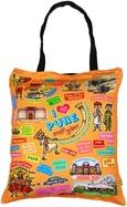 Eco Corner Small Coloured Pune Cotton Bag