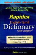 Rapidex English Tamil Dictionary With Usages