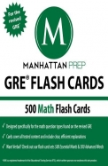 Manhattan Prep Gre Flash Cards: 500 Math Flash Cards