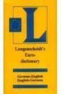 Langenscheidt Euro Dictionary German - English     English German
