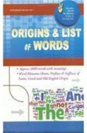 Origins & List Of Words