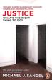 Justice : Whats The Right Thing To Do