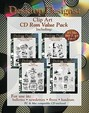 Desktop Designs: Clip Art Cd Rom Value Pack