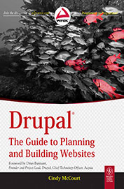 Drupal : The Guide To Planning & Building Websites
