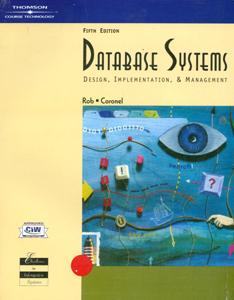 Database Systems : Design Implementation & Management