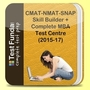 CMAT-NMAT-SNAP Skill Builder + Complete MBA Test Centre (2015-17)