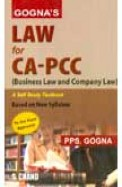 Law For Ca Pcc Business Law & Company Law