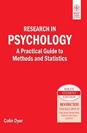 Research In Psychology : A Practical Guide To Methods & Statistics