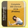 Complete SBI Clerical 2016 (Prelims) Test Series 10 FLTs