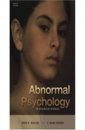 Abnormal Psychology An Integrative Approach W/Cd