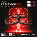 Parrot AR.DRONE 2.0 Power Edition Red Common