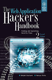 Web Application Hackers Handbook