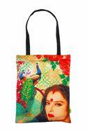 Eco Corner Small Rekha Tribute Cotton Bag