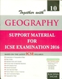 Together With Geography Class 10 Practice Material For Icse Examination