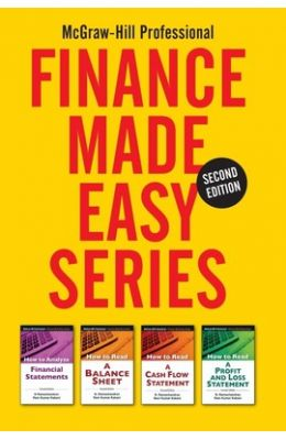 Mcgraw Hill Professional Finance Made Easy Series  Set Of 4 Books