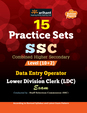 15 Practice Sets SSC Combined Higher Secondary Level (10+2) Data Entry Operator and Lower Division Clerk (LDC) Exam