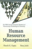 Human Resource Management Mba 2nd Sem Vtu