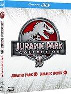 Jurassic Park 3D / Jurassic World 3D (2 in 1)