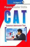 POPULAR MASTER GUIDE CAT COMMON ADMISSION TEST    CODE : R366