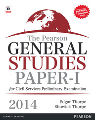 The Pearson General Studies – Paper I for Civil Services Preliminary Examinations